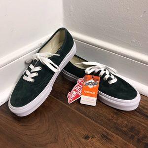 "NWT/NWB Vans ""Authentic"" Style Darkest Spruce Shoe"
